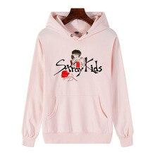 Stray Kids Kpop Turtleneck Hoodies Sweatshirt Women/Men Fashion 2019 Hot Sale Casual Trendy Streetwear Unisex Clothes