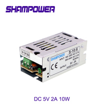 цена на DC 5V Power Supply 10W 2A AC 110V/220V To DC 5V Switch Power Supply Security Adapter Power Supply For LED Strip Light motor