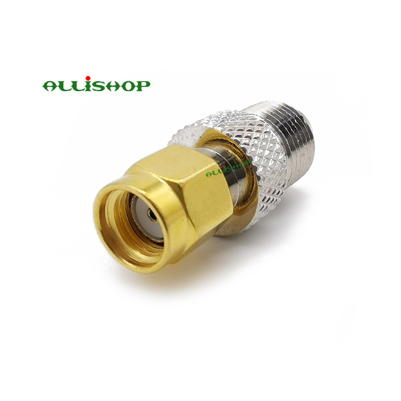 RP SMA Male Plug to SMA Female Jack Straight RF Coax Adapter Convertor PKCA