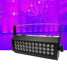 36x3W LED UV Strobe Stage Horse racing Effect Lighting For DJ Disco Party Wedding DMX512 Control Wash Beam Wall Wash Par Lights цена и фото