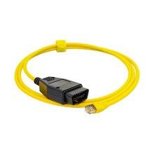 E SYS ICOM Ethernet כדי OBD2 אבחון כבל נתונים ENET קידוד כלים OBD מחברים עבור F10 F11 F20 F21 F30 F34 f80