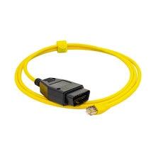 E SYS ICOM Ethernet do OBD2 kabel danych diagnostycznych ENET kodowania narzędzia OBD złącza dla F10 F11 F20 F21 F30 F34 F80
