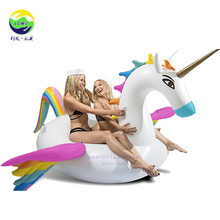 Inflatable Horse Floating Row Environmentally Friendly PVC Swim Ring Floating Row Tianshichibang Floating Row Swan Flamingo Wate(China)