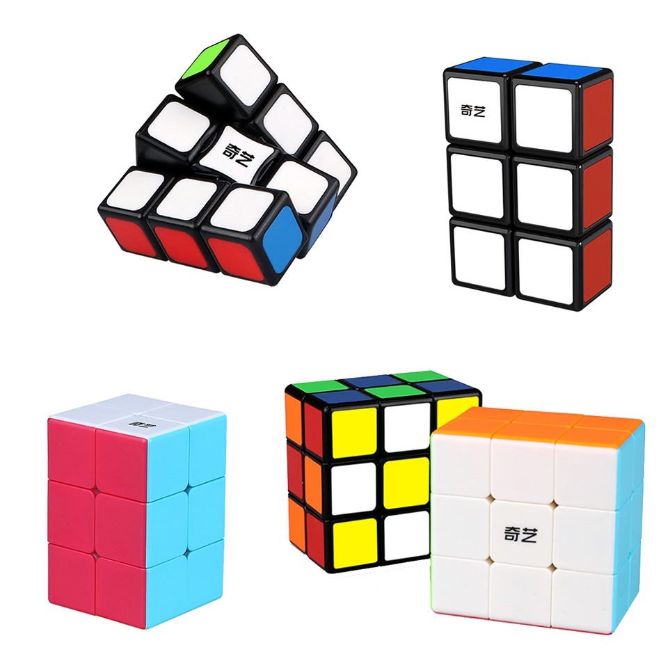 QiYi MoFangGe 123 133 223 233 Magic Cube Professional 1x2x3  2x2x3 2x3x3 Magico Speed Puzzle Cubo Kids Educational Funny Toys