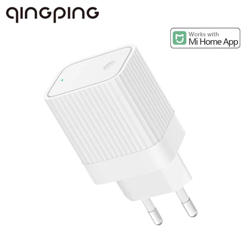 2020 nova versão de plug ue qingping bluetooth wifi gateway bluetooth sub-dispositivo de ligação inteligente casa trabalho dispositivo com mihome app