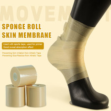 Qiancheng Skin film foam bandage Elbow Knee Pads Film Foam Underwrap Antiperspirant Protection Sports Pre-Wrap for Athletic Tape