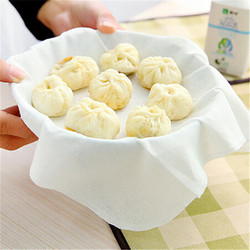 LINSBAYWU Household Cotton Steamed Cloth family Kitchen Stuffed Steamer Dumpling pastry Supplies Home Accessories Tools
