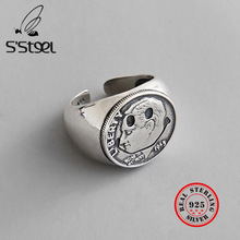 S'STEEL 925 Sterling Silver Rings For Women Ring Anillos Plata Para Mujer Bijoux Argent Massif Pour Femme Anel De Prata Sieraden