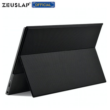 ZEUSLAP 15.6inch USB C HDMI 1920*1080P PD HDR Monitor with Earphone port Metal Ultrathin Portable Screen Gaming Monitor 1