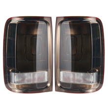 Taillight For VW Amarok 2010 2011 2012 2013 2014 2015 2016 1Pair Tail Lights Rear Brake Signal Fog Light Lamp Smoke Pickup DRL new for vw polo 2010 2011 2012 2013 right side led tail light rear light 6r0945096