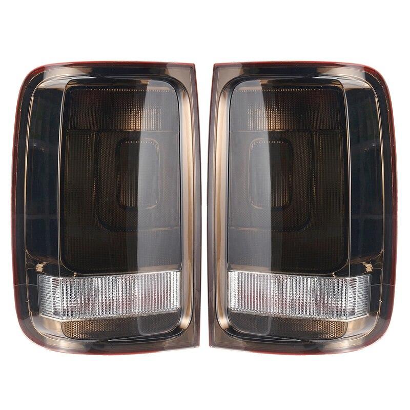 Taillight For VW Amarok 2010 2011 2012 2013 2014 2015 2016 1 페어 테일 라이트 리어 브레이크 신호 포그 라이트 램프 연기 픽업 DRL