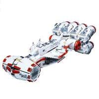 Em estoque 05046 o tantive iv rebelde bloqueio runner 1748 peças legoinglys starwars modelo blocos de construção compatível legoinglys brinquedos