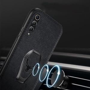 Image 2 - Funda magnética para Samsung Galaxy S20 Ultra FE Note 20 10 5G S10 Plus S9 S8 A30 A50 A70 A80 A90 A51 A71, funda con soporte de tela