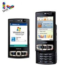 Nokia – authentique Smartphone N95, téléphone portable, 8 go, 3G, 5mp, Wifi, GPS, écran 2.8 pouces, GSM, débloqué, supporte le clavier russe et arabe