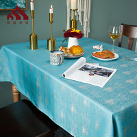 Jacquard Tablecloth Table Cover Great for Banquet, Parties Wedding table cloth heat resistant for formal occasions decoations