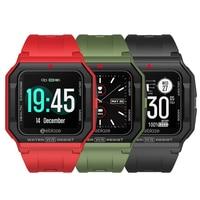 Zeblaze-reloj inteligente Ares para Android IOS y teléfono, pulsera con Bluetooth, control del ritmo cardíaco, 3 ATM, 15 días de batería
