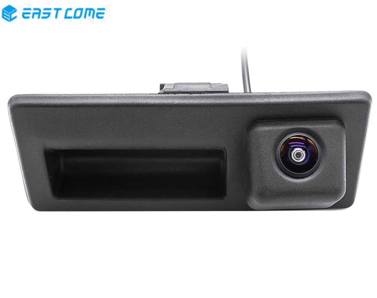 HD 1080P Car Rear View Camera Trunk Handle Reverse Camera For Audi A4 S4 A6 Volkswagen Golf 5 6 Passat B6 B7 Sharan Polo EOS
