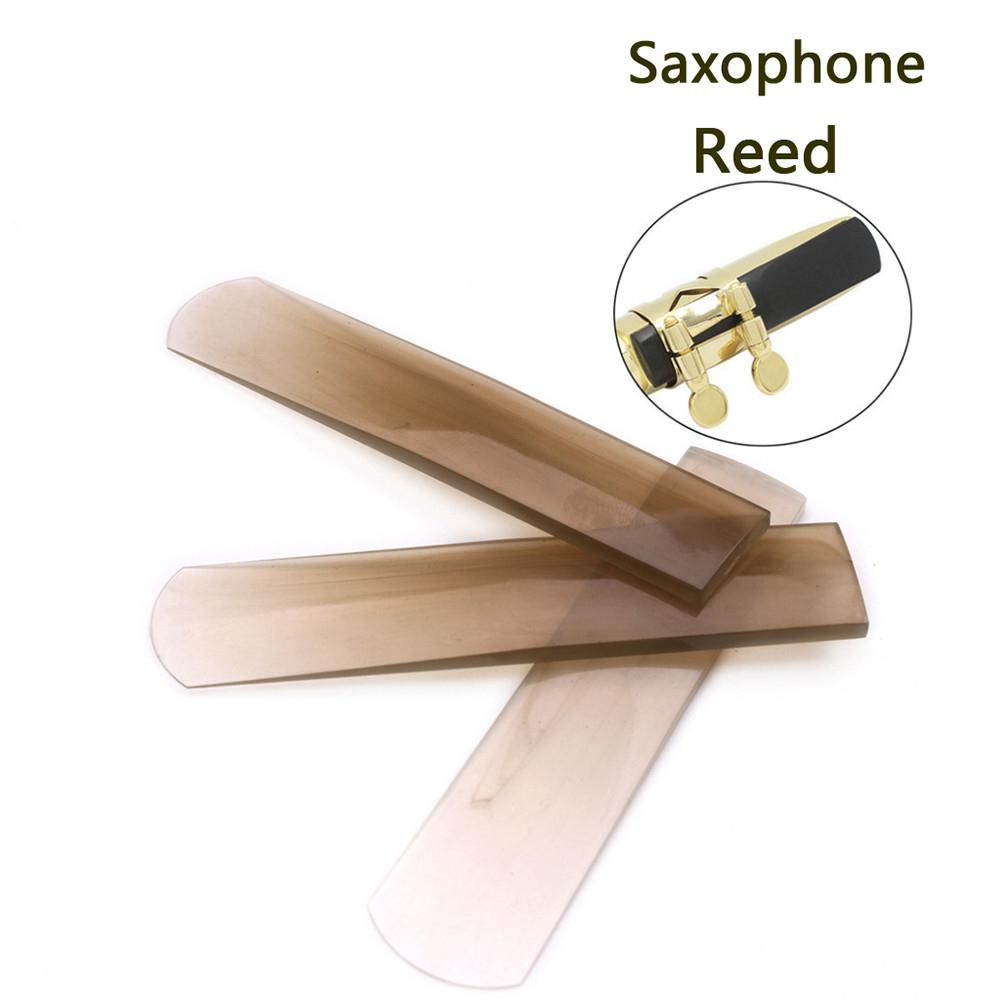 Professional Transparent Brown Resin Reeds For Alto Saxophone Strength Clarinet Reeds Part Accessories