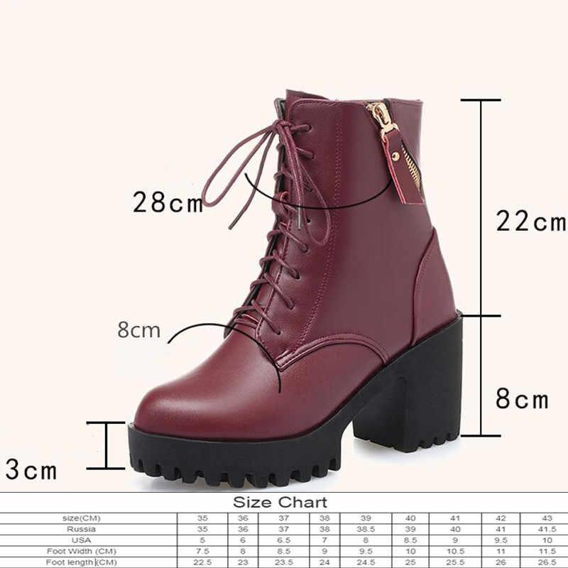 Aiyuqi mulheres bare boots 2020 novo couro genuíno botas femininas de lã natural quente inverno mulheres nuas botas de inverno sapato