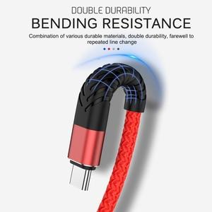 Кабель USB C type-C для быстрой зарядки samsung, huawei, Xiaomi, type-C, USBC, 20 см, 1 м, 2 м, 3 м, мобильный телефон