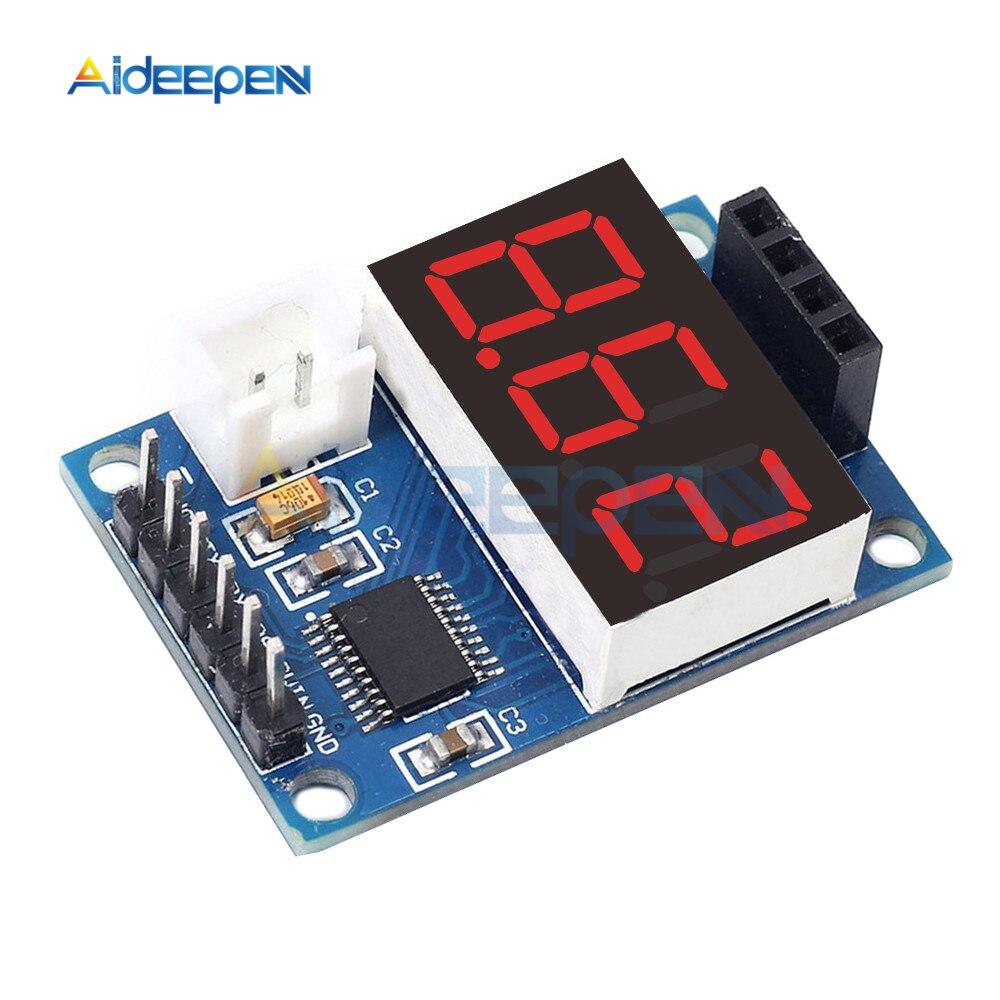 Módulo de Control de rango ultrasónico Digital HC-SR04 módulo de prueba de distancia LED Display Module para Arduino