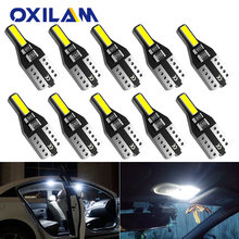 10x T10 LED W5W 194 Luci Auto per Honda Civic Accord CRV HRV Jazz Fit NC750X Auto Ha Condotto La Luce Interna tronco Della Lampada Allo Xeno 6000K 12v(China)