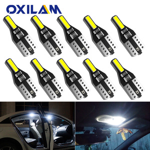10x T10 LED W5W 194 Car Lights for Honda Civic Accord CRV HRV Jazz Fit NC750X Auto Led Interior Light Trunk Lamp Xenon 6000K 12v(China)