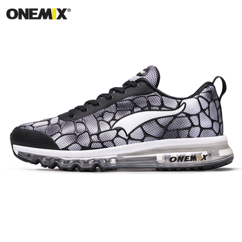 ONEMIX New Style Men Running Shoes Outdoor Leather Jogging Trekking Sneakers Summer Breathable Mesh Athletic Women Sport Shoes 8