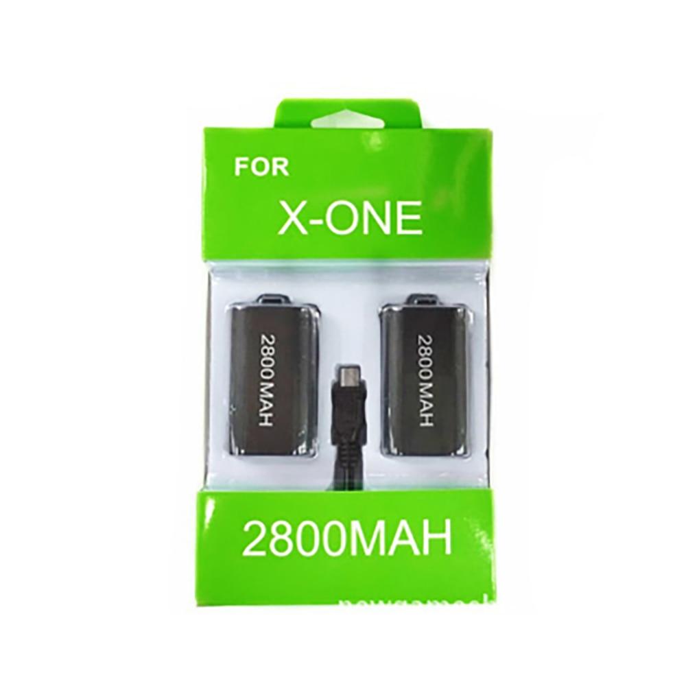2 шт. аккумуляторная батарея + 1 шт. кабель для зарядки USB для беспроводного контроллера Xbox One Батареи      АлиЭкспресс