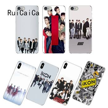 RuiCaiCa IKON Kpop чехол для телефона fundas для iPhone 12 8 7 6 6S Plus X XS MAX 5 5S SE XR 12 11 pro promax coque image