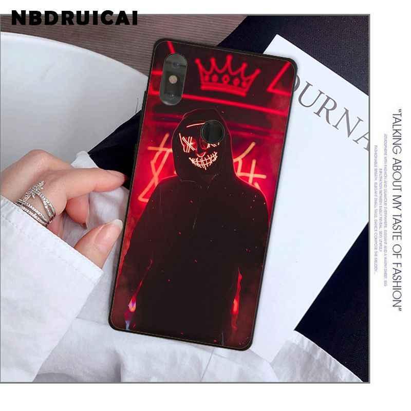 NBDRUICAI ストリートブランド少年少女 TPU ソフトシリコン電話ケースカバー xiaomi 8 9 se 5X Redmi 6pro 6A 4 × 7 5 プラス注 5 7 6pro