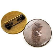Broche con gemas Vintage para mujer, pin de metal, broches de erizo, Pin de Collar chapado en Bronce Antiguo, joyería para regalo