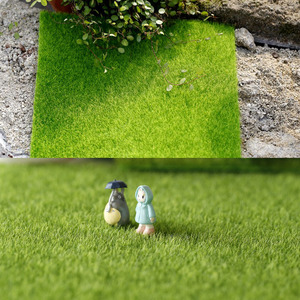 Image 2 - Artificial Moss Turf Lawns Green Plants DIY Micro Landscape Decoration Fake Grass Lawn for Home Mini Garden Floor Accessories
