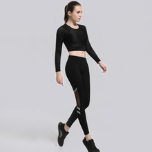 2019fall exercise speed-dryg clothg long sleeve women's outdoor runng fitness