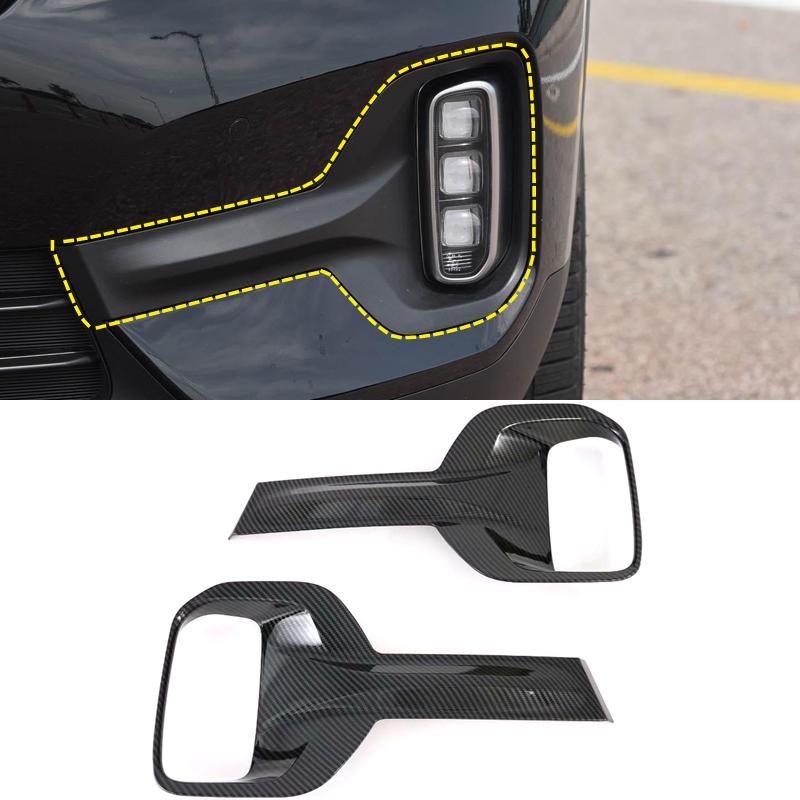 Передний/задний бампер противотуманные фары крышка Накладка ABS хром/углеродного волокна выглядят переоборудование экстерьера комплект для Kia Seltos 2019 2020 2021 Автомобили и мотоциклы     АлиЭкспресс