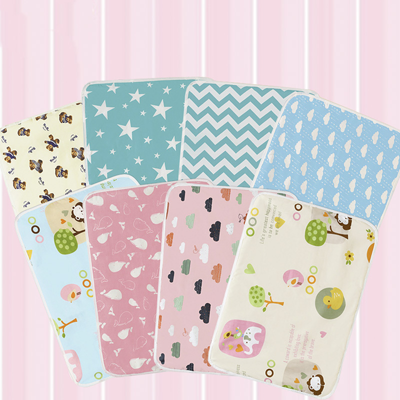 8 Styles Baby Diaper Pad Portable Foldable Washable Travel Nappy Diaper Changing Mat Waterproof Baby Play Mat Baby Care