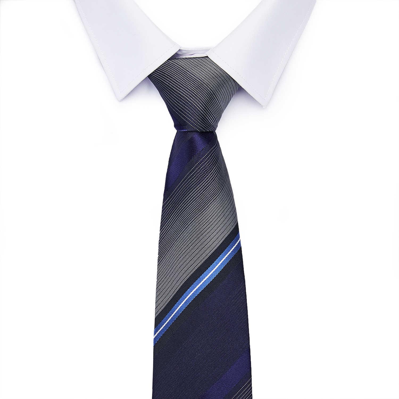 웨딩 비즈니스 남자 선물에 대 한 남자의 넥타이 100% 실크 자 카드 짠 넥타이 새로운 슬림 럭셔리 넥타이 남자 6cm 스키니 넥타이