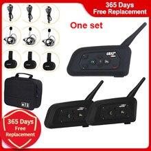 3 3 pçs/set 1200M Interfone Full Duplex-Maneiras Sistema de Comunicação BT Interphone Juiz Gancho do Fone De Ouvido do Treinador de Futebol Árbitro