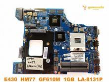 Original für Lenovo E430 laptop motherboard E430 HM77 GF610M 1GB LA-8131P getestet gute freies verschiffen