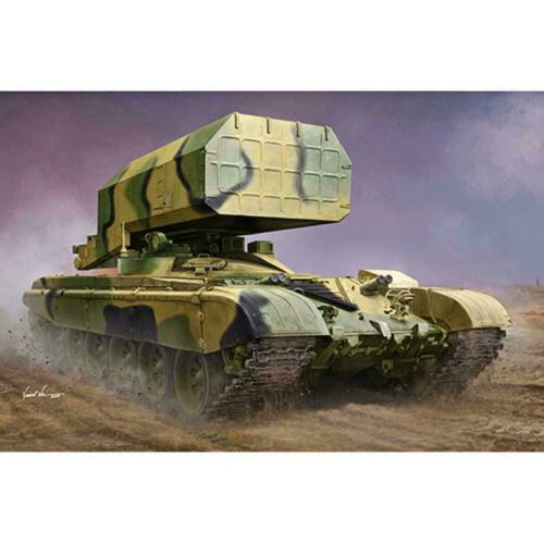 <font><b>Trumpeter</b></font> 09560 1/35 Russian TOS-1 Multiple Rocket Launcher Mod.1989 Tank Kit TH16541-SMT2 image