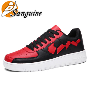 Men's Shoes Fashion 2019 New Air Force One Board Shoes Breathable Wild Sports Tide Shoes Low To Help Barb Small White Shoes
