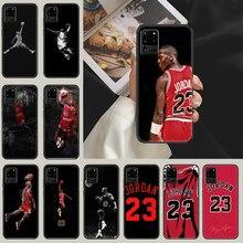 Michael Jordan Phone case For Samsung Galaxy Note 4 8 9 10 20 S8 S9 S10 S10E S20 Plus