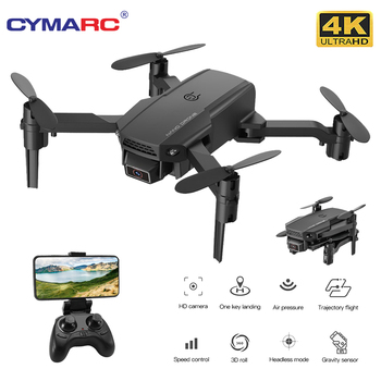 CYMARC KF611 Mini Drone with 4k HD Camera 1080P WiFi FPV Camera RC Drone Altitude Hold Foldable RC Quadcopter Dron E88 M73 2 4ghz six axis drone with camera 16w wifi fpv 720p selfie dron altitude hold flight path g sensor control rc quadcopter helicop