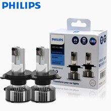 2X Philips Ultinon Ätherisches G2 LED 6500K H4 12/24V 20W P43t Weit und in der nähe von licht original lampe Super weiß licht 11342UE2X2