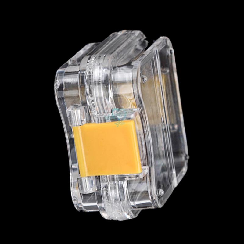 10pcs New Dental Pequena Coroa-mantendo Caixa Transparente