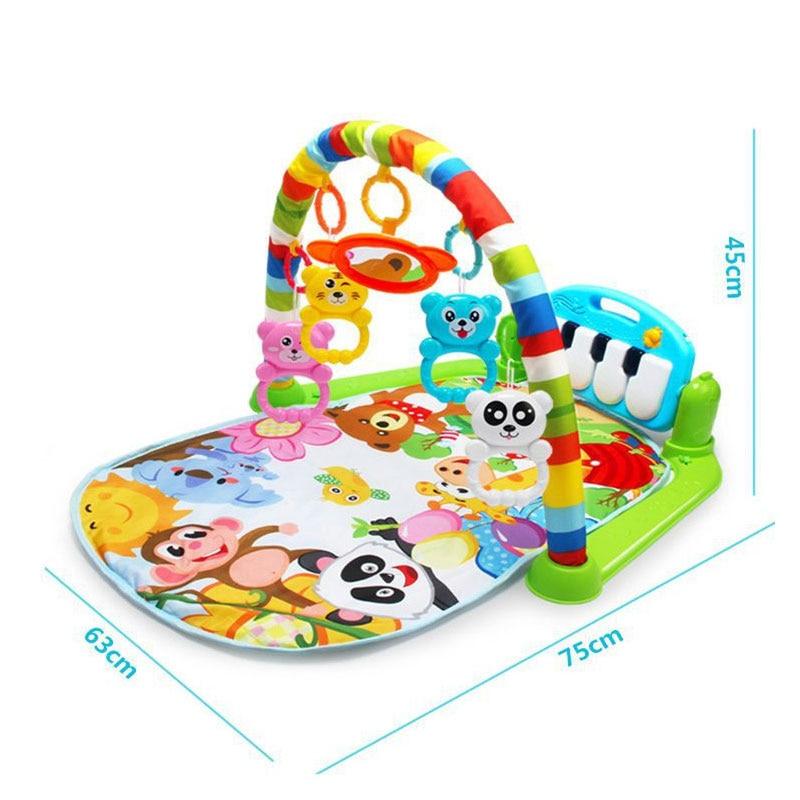 educacional rack brinquedos infantil ginasio rastejando gam almofada 05