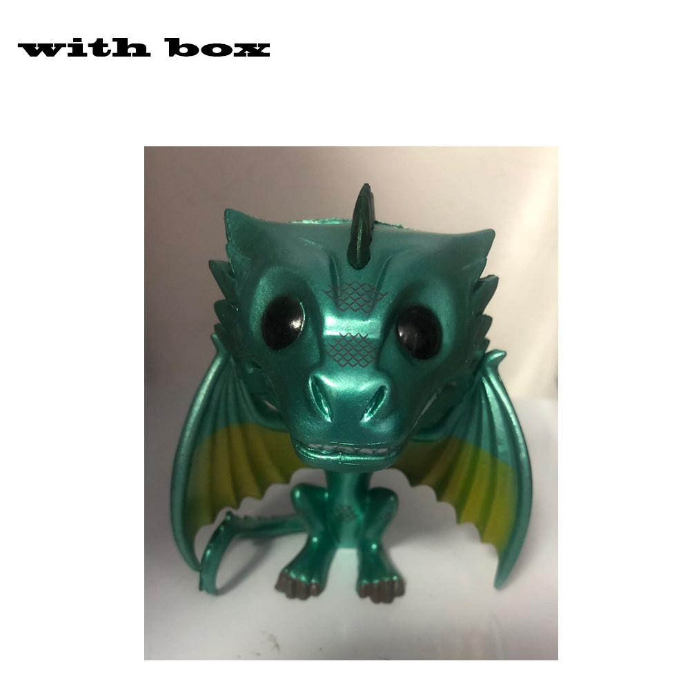 Funko Pop Game of Thrones Drachen 3er-PACK Drogon Rhaegal /& Viserion Spielzeug