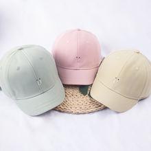 Шляпа с короткими полями женская японская Милая Кепка надписью