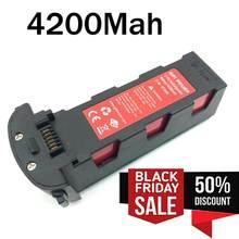 11.4v 4200mah bateria para hubsan h117s zino gps rc zangão quadcopter peças de reposição bateria de vôo inteligente para rc câmera zangão