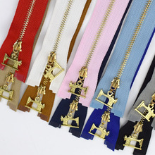 2/5pcs 40/50/60/70cm Metal Zipper 3# Open End Meetee Zip Bags Clothing DIY Handmade Sewing Zippers for Sewing  ZA054